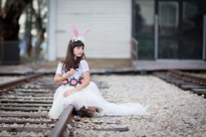 תחפושת ארנבת לבנה