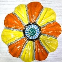 פרח גדול לתליה 16.5 סמ'