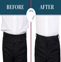חגורה למתיחת חולצה מכופתרת במכנסיים