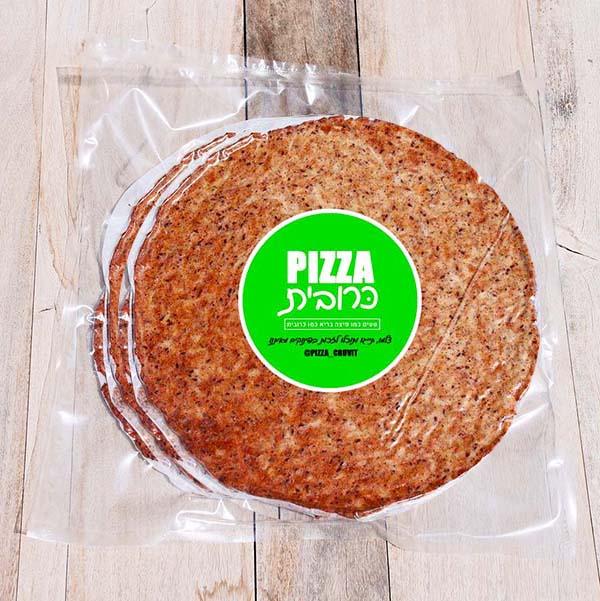 בסיס לפיצה כרובית (2 יחידות במארז)