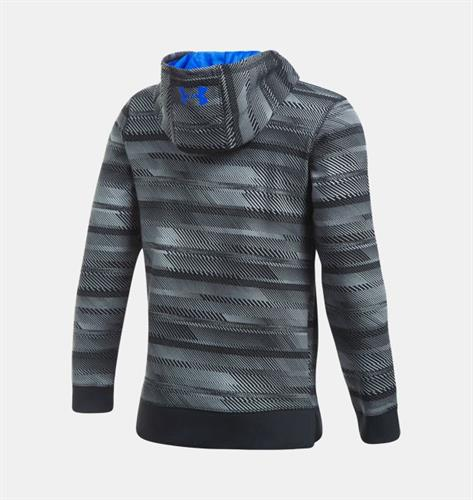 קפוצ'ון  נוער אנדר ארמור 1302299-001 Under armour boys` Storm  Fleece Big Logo Printed