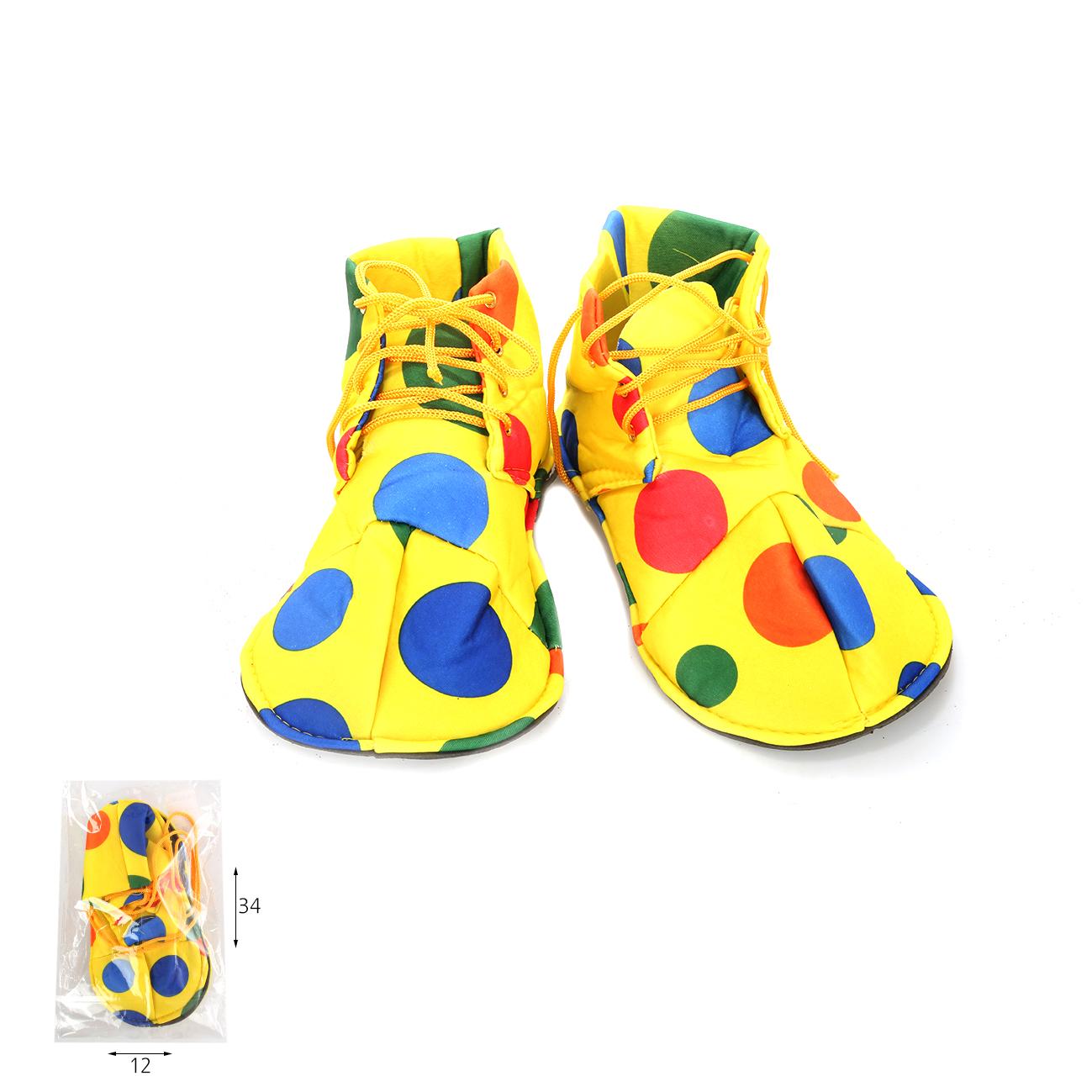 נעלי בד ליצן לילדים