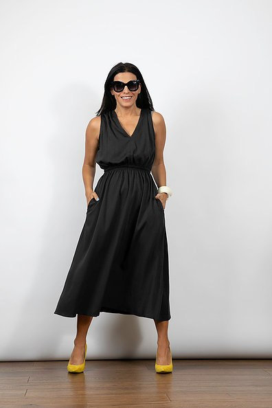 שמלת מורין שחורה