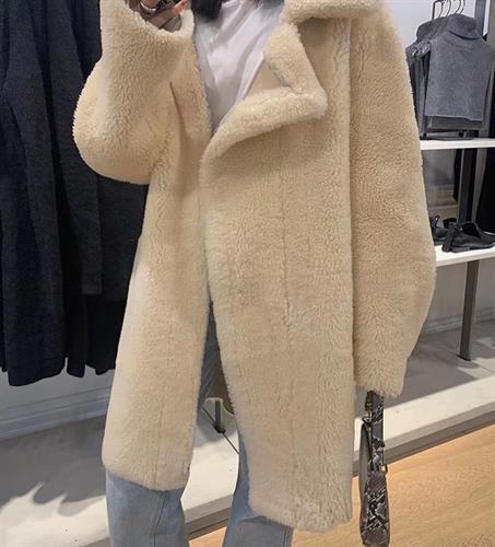 מעיל פרווה ולנטין ארוך
