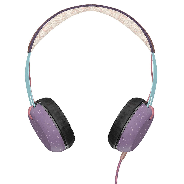 אוזניות קשת עם מיקרופון Skullcandy GRIND Teal Azrec