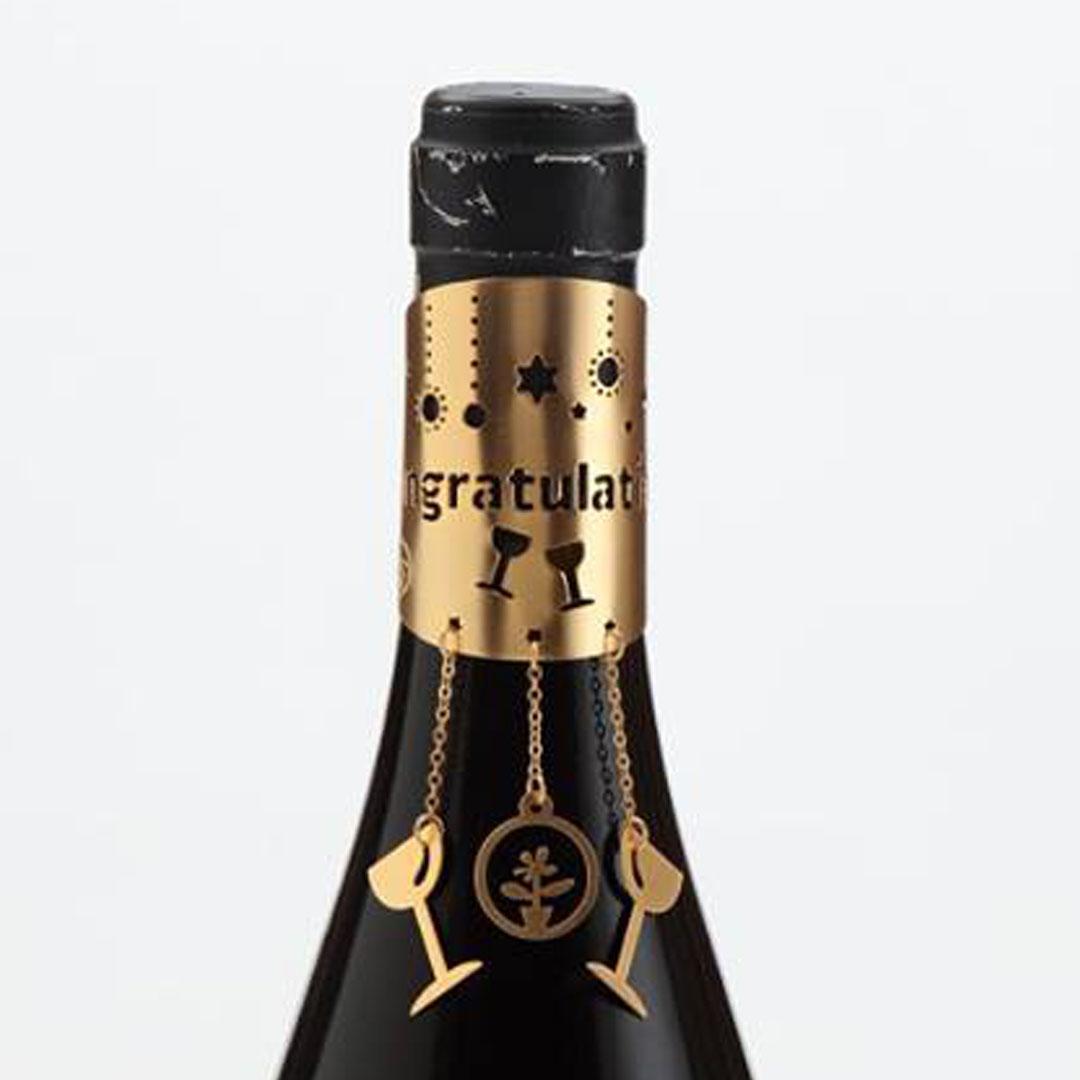 Wine Bottle Jewelry- Congratulation