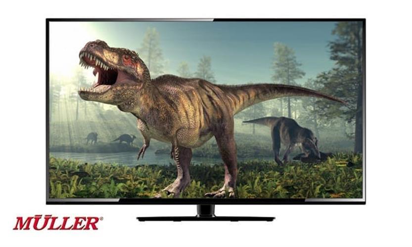טלויזיה מולר 50'' LED SMART TV 4K דגם GS-50F S 4K
