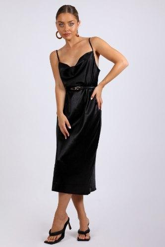 שמלת ערב  מידי נינט שחור