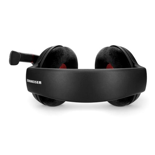 אוזניות חוטיות Sennheiser Game One, אוזניות משחק לשמיעת הצלילים עם מיקרופון ייחודי  המבטל רעשי רקע.
