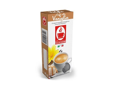 קפה בוניני Vanilla טעם וניל - תואם נספרסו