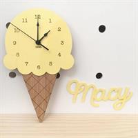 שעון קיר- גלידה מתוקה