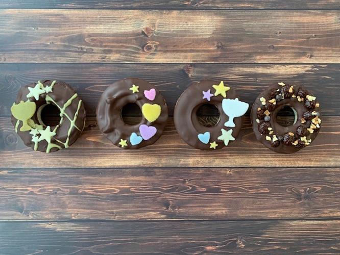 עוגות דונאטס ללא קמח חיטה