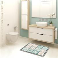 """שטיח פי וי סי למטבח """"פספס וינטג'""""  שטיח למטבח  שטיח פי וי סי   שטיח PVC   שטיחי פי וי סי מעוצבים"""