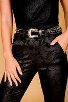 מכנס מייגן מחטב דמוי עור מיוחד