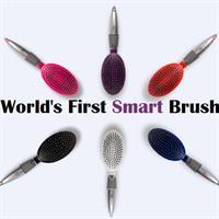 מברשת שיער לסירוק קל עם פטנט מהפכני Qwik Clean Brush