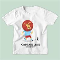 חולצת ילדים Captain Lion