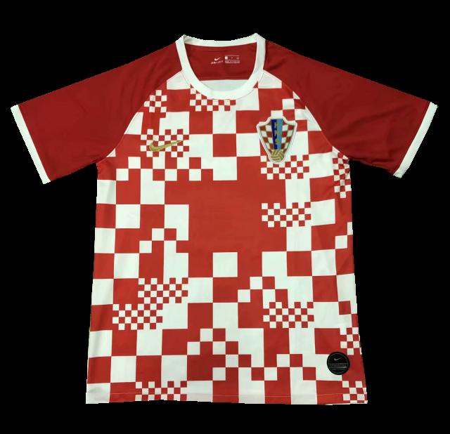חולצת אוהד קרואטיה בית יורו 2020