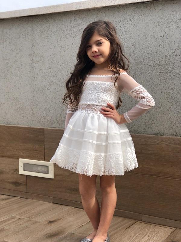 שמלת אלגנט פסי קטיפה שושבינה