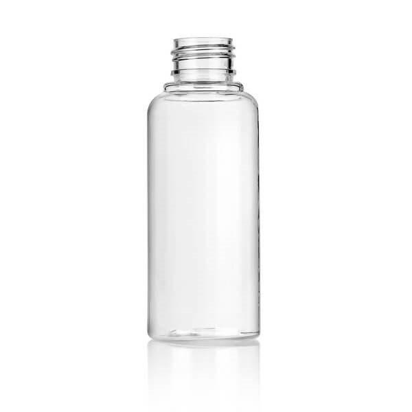 בקבוק פלסטיק 100 מל  + פקק