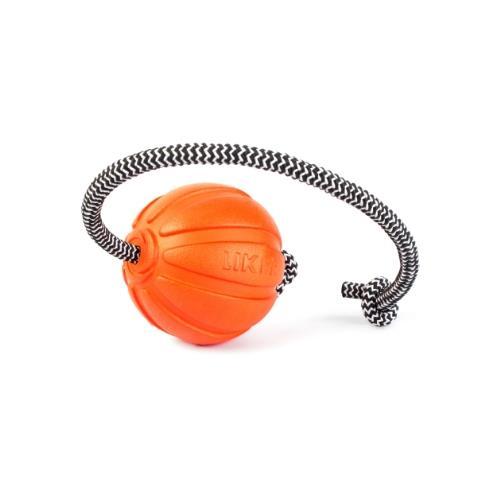LIKER Cord 7 כדור עם חוט לכלבים מגזעים בינוניים