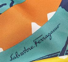 מטפחת ראש Salvatore Ferragamo 70*70