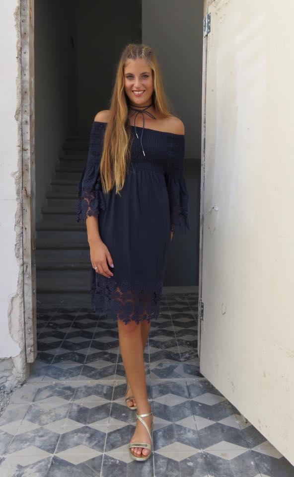 שמלת גיפיור כחולה
