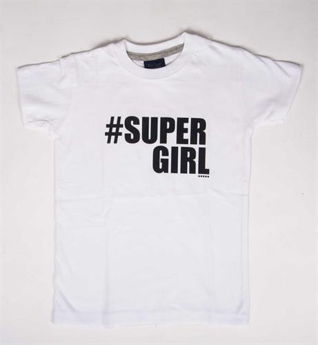 טי שירט לילדים Supergirl