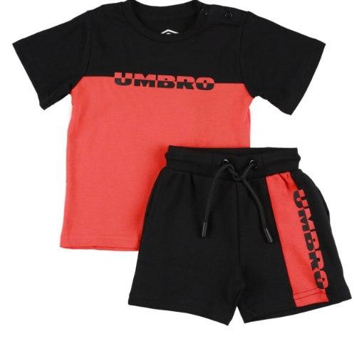 חליפת בנים אדום/ שחור UMBRO - מידות 2-14