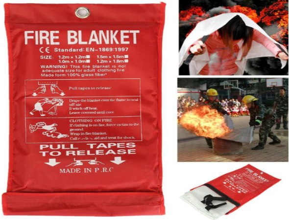 שמיכת חירום לכיבוי שריפות