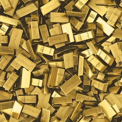 טפט UGEPA דמוי פלטות זהב L16612