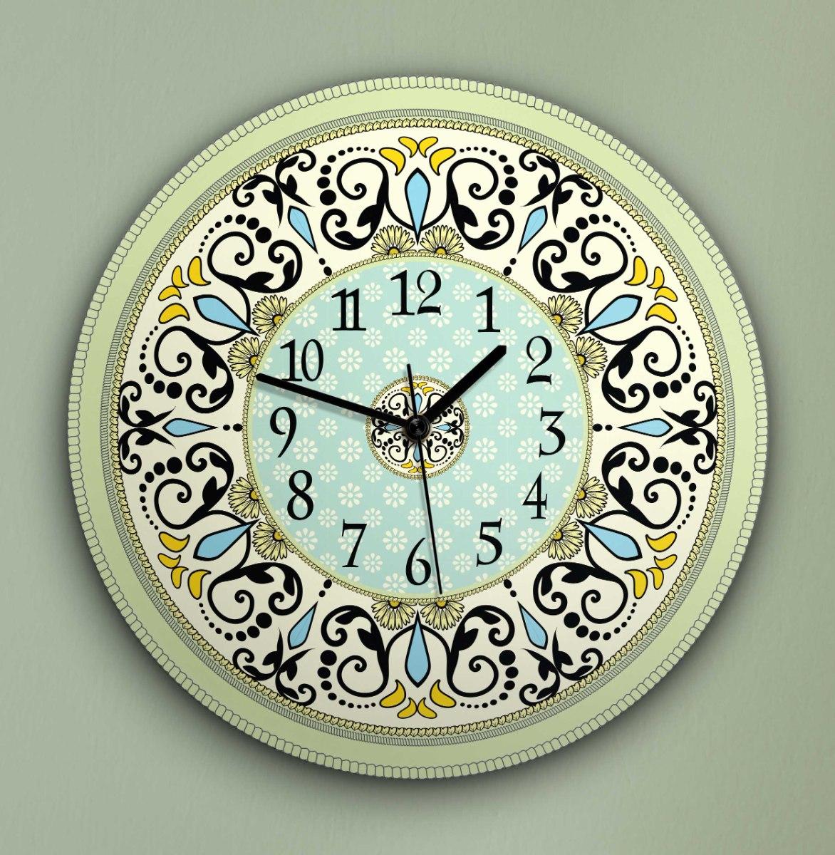 שעון קיר מעוצב, זכוכית אקרילית, דגם 2020  TIVA DESIGN