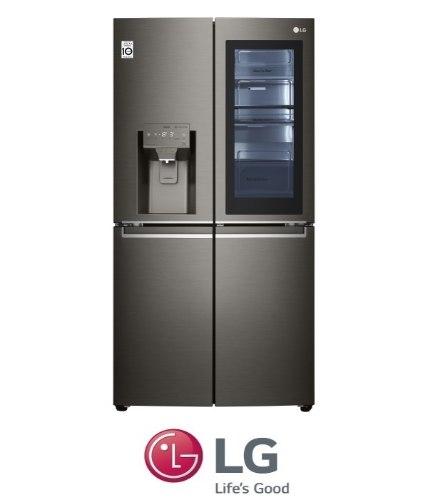 LG מקרר 4 דלתות דגם GRX720INS