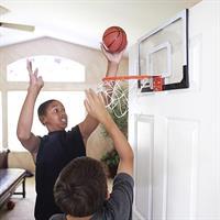 מיני לוח סל מקצועי מבית SKLZ דגם PRO MINI HOOP כולל כדורסל