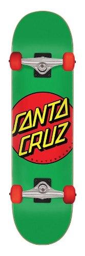 "Santa Cruz Classic Dot Mid  7.8"" Complete Skateboard"