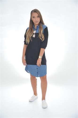 שמלת חצי חצי one size