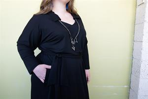 שמלת דריה שחור