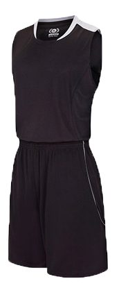 תלבושת כדורסל בעיצוב אישי Black דגם #6018