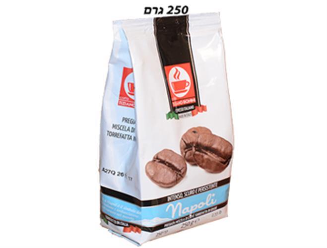 תערובת פולי קפה נאפולי - 250 גרם