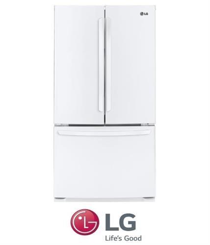 LG מקרר 3 דלתות דגם GR-B264MAW לבן