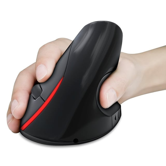 עכבר ארגונומי אורטופדי למחשב נייד