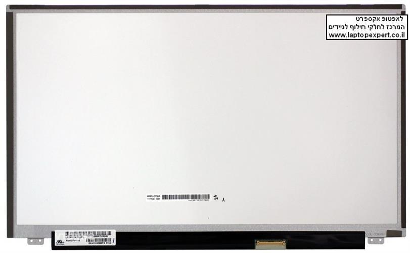 תיקון החלפת מסך למחשב נייד  LP156WF4 (SL)(B2) LP156WF4-SLB2 15.6