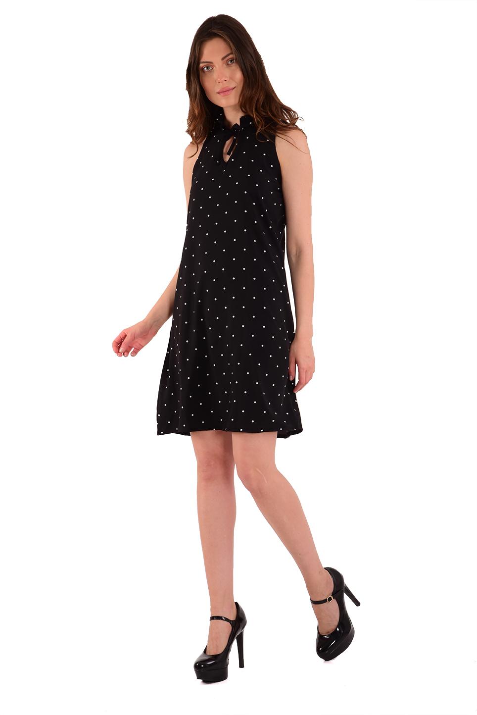 שמלת קייטלין שחור