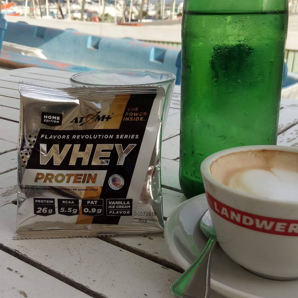 POP UP|מוגבל ל1 יח ללקוח מנת חלבון אייס קפה מבית ATOM+ במחיר היכרות מיוחד
