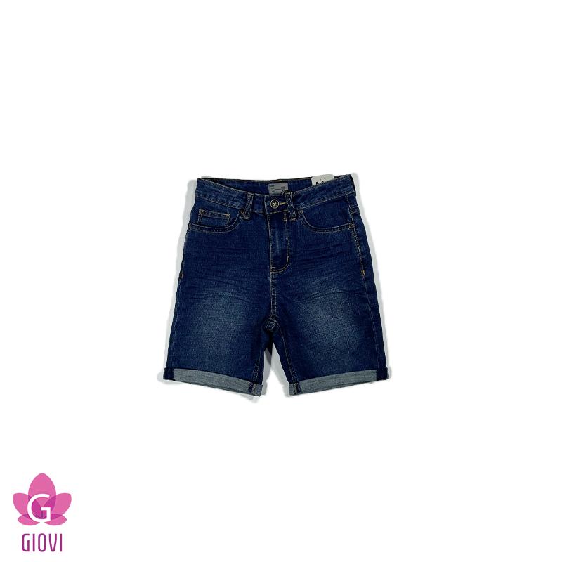 מכנס ג'ינס ברמודה בנים