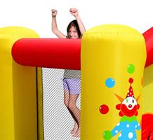מתקן קפיצה מגלשת הליצן וחישוק הפי הופ - 9201 - Clown Slide And Hoop Bouncer Happy Hop