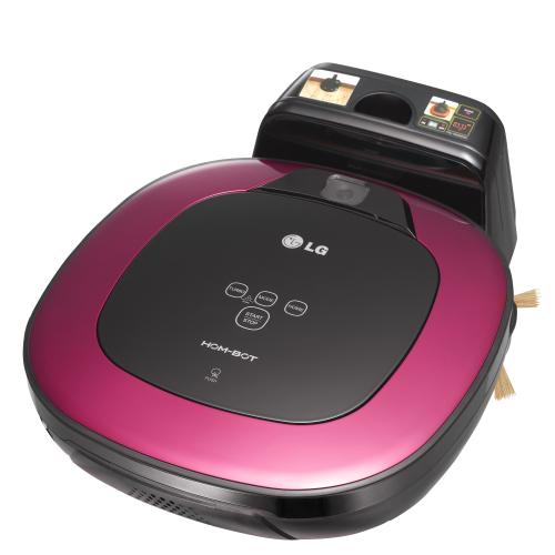 ברצינות LG שואב אבק מרובע - רובוט חכם HOM-BOT דגם: VR-6462LV GH-36