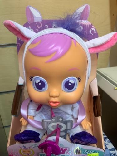 קריי בייביז - בובת תינוק בוכה  סוסו cry babies