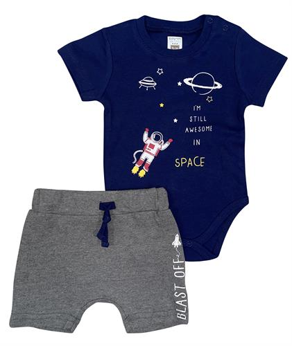 חליפת בגד גוף חלל נייבי