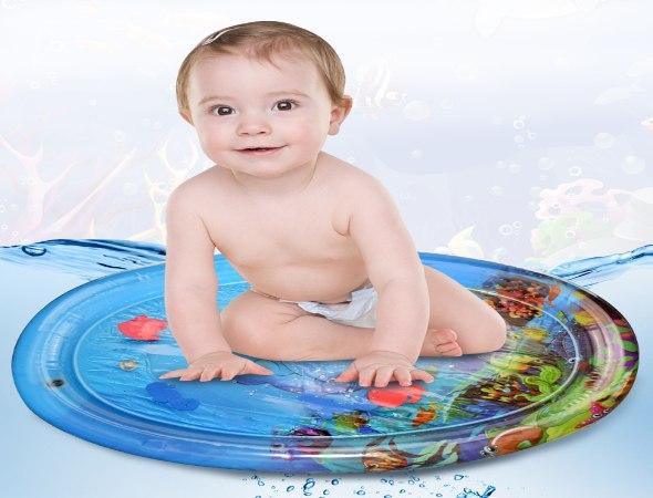 משטח פעילות דגים מתנפח לתינוק
