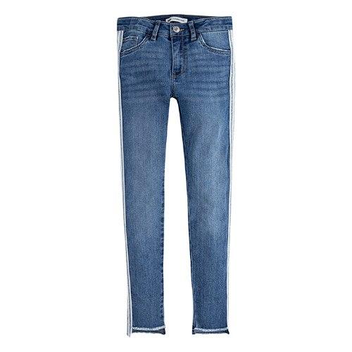 ג׳ינס בהיר עם פס בצד LEVIS סקיני בנות - 2-16